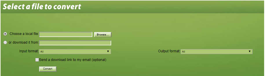 Convert Files - Free Online File Converter