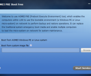 AOMEI PXE (Preboot Execute Environment) tool, enables the computers within LAN to use the bootable environment like AOMEI Windows PE on network to perform backup and restore operatins. AOMEI PXE Boot can replace the traditional system emergency boot media and can enable multiple computers to load the micro-system on network for system maintenance.