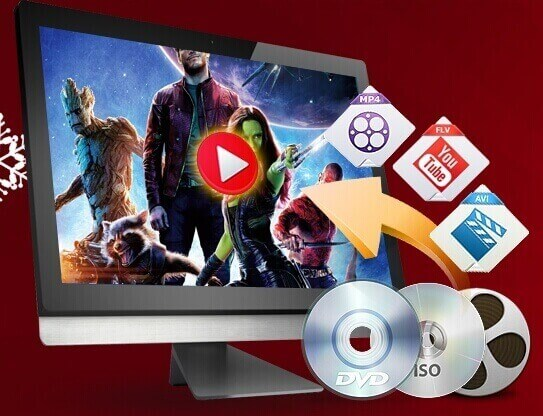WinX DVD Ripper Platinum can Clone DVD to ISO image and can Convert any DVDs to AVI, MP4, FLV, H.264, WMV, MPEG etc