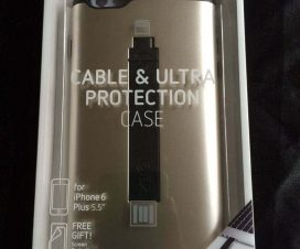 Cable & Ultra-Protection Case for iPhone 6 Plus