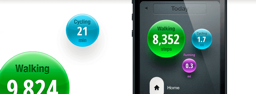 Moves is a Activity Tracking App that lets you know where, when and how much you've moved in a day