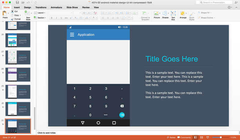 android-prototyping-powerpoint