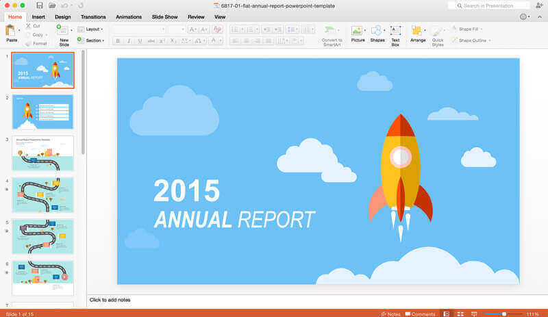 annual-report-powerpoint-template