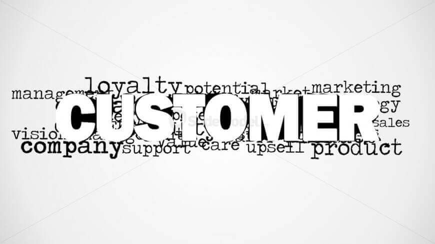 Customer Word Cloud Picture