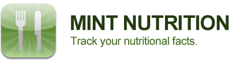 Track your nutritional facts using Mint Nutrition app