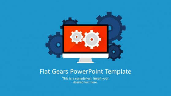 template-with-flat-gear-shapes-for-powerpoint