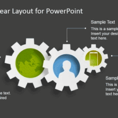 3 Best Process Gear Shapes for PowerPoint 1