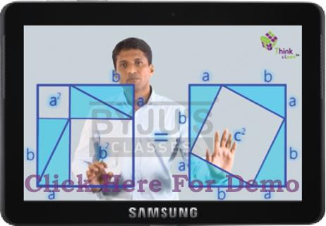 Byju's Classes on Samsung Tablet for CAT and GMAT aspirants