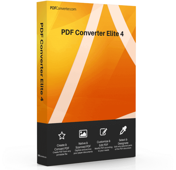 PDF Converter Elite 4 - PDFConverter.com