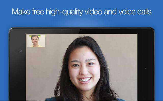 make unlimited video and voice calls with Imo communication app