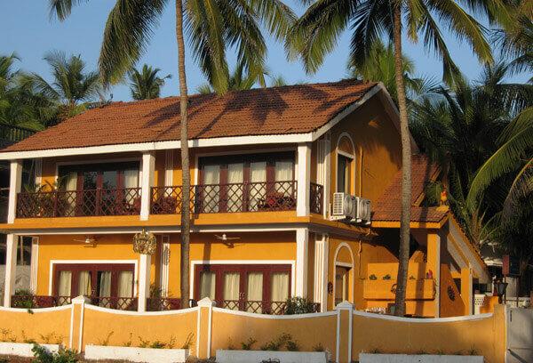 Casa Candolim Hotel in Goa Front View