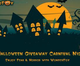 Wonderfox 2015 Halloween Giveaway Carnival Night