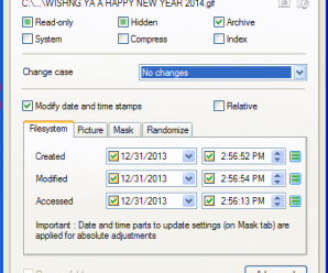 Easily Change File and Folder Attributes with Attribute Changer Tool 3