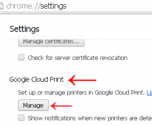 Give Print from Anywhere with Google Cloud Print 3