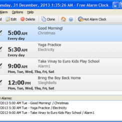 Set Up Daily Reminders with Free Alarm Clock 2