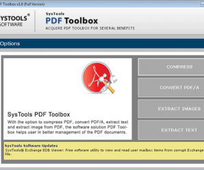 Product Review for SysTools PDF Toolbox 2