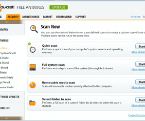 Free Antivirus Software with Low CPU Usage and System Memory Usage 4