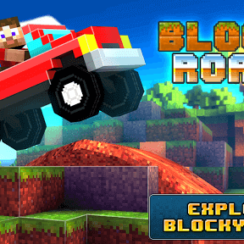 Play Blocky Roads 3D Car Racing Game on Android 5