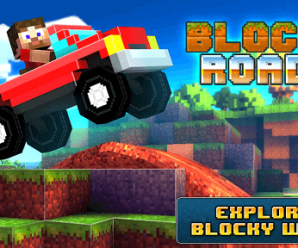 Play Blocky Roads 3D Car Racing Game on Android 2