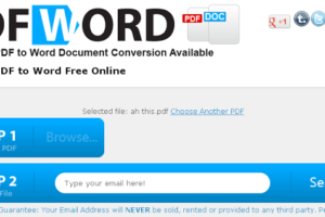 convertpdftoword.org - Free PDF to Word Conversion Online Tool 1