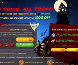 Digiarty Software 2015 Halloween Offer - WinX DVD Copy Pro Giveaway