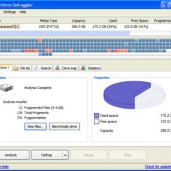 Piriform Defraggler - A Unique Disk Defragmentation Freeware 1
