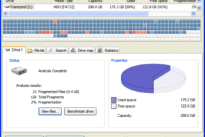 Piriform Defraggler - A Unique Disk Defragmentation Freeware 2