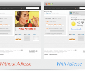 Surf the Web Peacefully with Adlesse - No More Annoying Banners, But Only Custom Widgets in Place of Them! 1