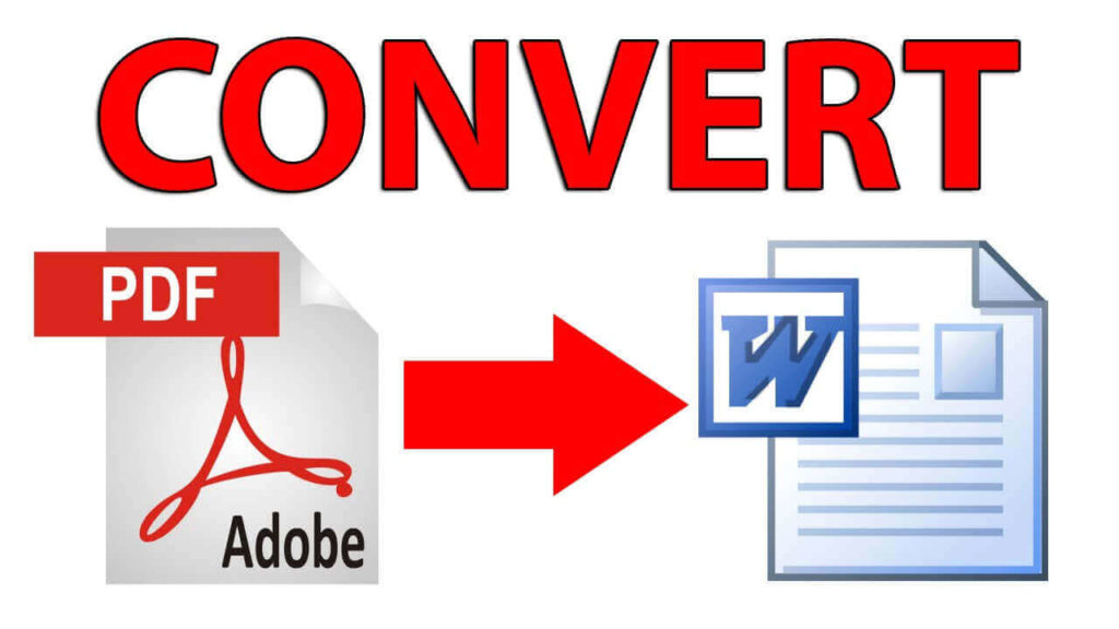 convert pdf files to word documents