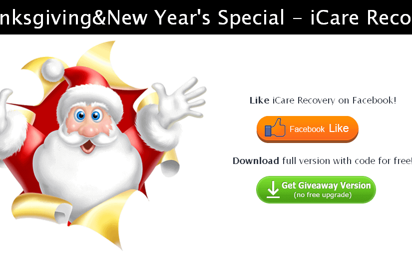 Free to Download iCare Data Recovery Pro lifetime License