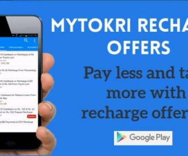 Mytokri Recharge Offers - Pay less and talk more with recharge offers