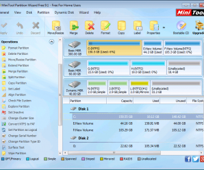 MiniTool Partition Wizard - Partition Manager Freeware for Windows