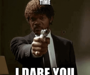 Sent An Email Attachment Oe More Time I DARE YOU - Jules Pulp Fiction