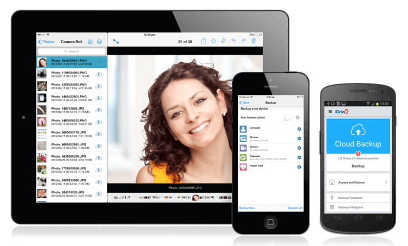 IDrive Online Backup for Your Mobile Devices