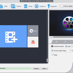 MacX HD Video Converter Pro for Windows Screenshot