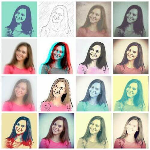 Photo Effects in Picfull