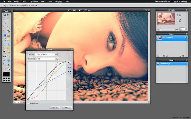 Online Photo Editor - Pixlr Editor