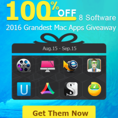 2016 Grandest Mac Apps Giveaway - 8 Top-Rated Mac Software for Free