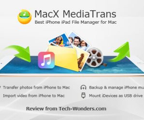 MacX MediaTrans - Best iPhone iPad File Manager for Mac