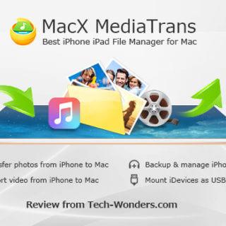MacX MediaTrans - Best iPhone iPad File Manager for Mac