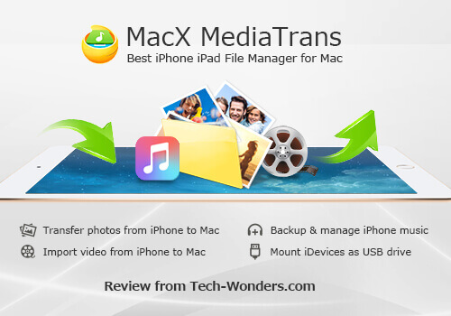 Quickly Transfer iPhone iPad Data with MacX MediaTrans