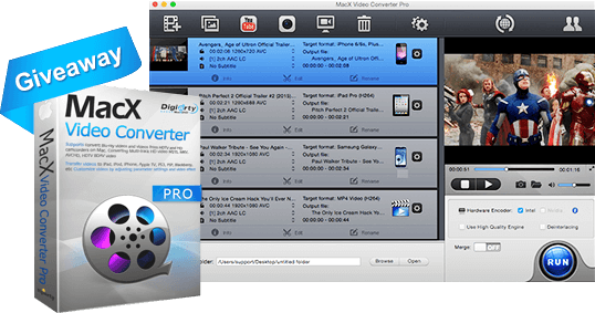 MacX Video Conveter Pro Giveaway