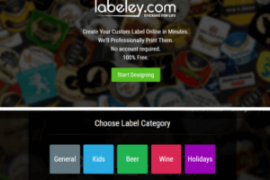 Labeley - Create Your Custom Label Online in Minutes and Professionally Print Your Labels. No account required. 100% Free. Start Designing. First Choose Label Category - General, Kids, Beer, Wine or Holiday Labels