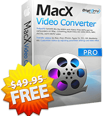 Giveaway: MacX Video Converter Pro originally $49.95 - Best all-in-one video toolbox to convert HD & SD videos, download online videos from YouTube and 300+ sites, capture on-screen's activities, record & edit videos.