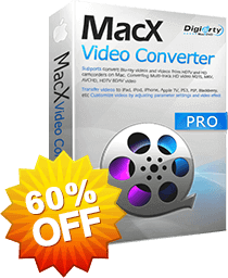 MacX Video Converter Pro 60% OFF 2016 Black Friday Special Offer