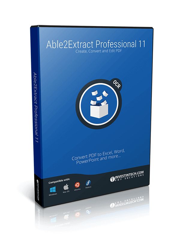 Say goodbye to boring pdf editing with able2extract professional 11 able2extract professional 11 box create convert and edit pdf convert pdf to excel ccuart Gallery