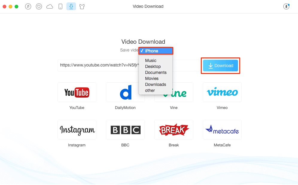 Download YouTube Videos Directly to iPhone and iPad