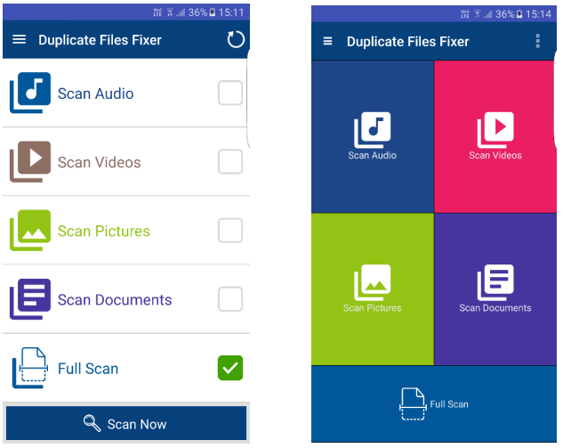 Duplicate Files Fixer Dual Themes - Classic & Material
