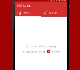 PDF Merge Android App Screenshot