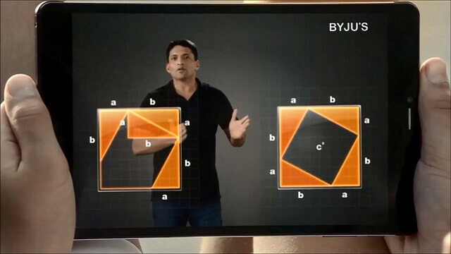 Byju's E-Learning App for Android Tablet Learning